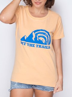 Camiseta Feminina Hit The Trails - Up The Mountain