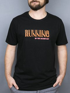 "Camiseta Masculina Running - ""Up The Mountain"""