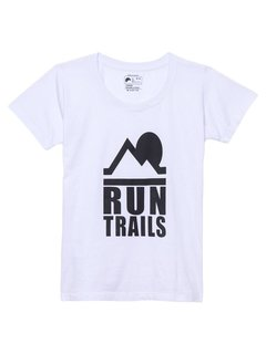 Camiseta babylook Run Trails - Up The Mountain