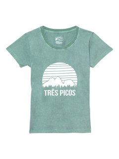 Camiseta babylook Três Picos - Up The Mountain