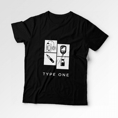 Camiseta Amigos e Diabetes | TYPE ONE