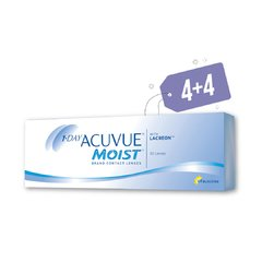 PROMO 4+4 1-Day Acuvue Moist 30 Pack