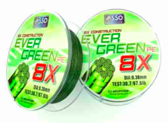 ASSO MULTIFILAMENTO EVERGREEN 036-6X130M