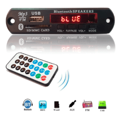 Placa P/ Amplificador - Modulo Usb Mp3 Bluetooth Muda Pasta