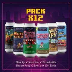 PACK ARCADE x 12 (No incluye Gift Pack)