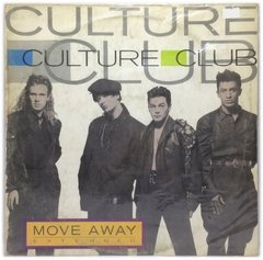 Vinilo Culture Club Move Away - Alejate Maxi Argentina 1986