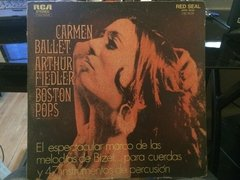 Vinilo Carmen Ballet Orquesta Boston Pops Lp Argentina 1970