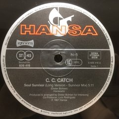 Vinilo Cc Catch Soul Survivor Maxi Alemán 1987 Dj80 Italo - BAYIYO RECORDS