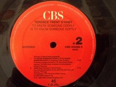 Vinilo Terence Trent D'arby To Know Someone Deeply Is To Kno - BAYIYO RECORDS