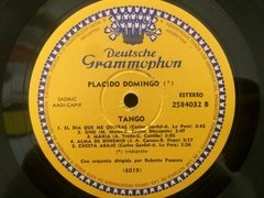 Vinilo Placido Domingo Tango Lp Argentina 1981 - BAYIYO RECORDS