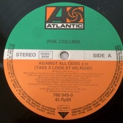 Vinilo Phil Collins Against All Odds Take A Look At Me Now en internet