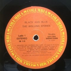 Vinilo Rolling Stones Black And Blue Lp Argentina 1976 - BAYIYO RECORDS