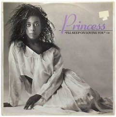 Vinilo Princess I'll Keep On Loving You Alemán 1986 Dj 80
