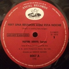 Vinilo Martina Arroyo There's A Meeting Here Tonight! Lp 74 en internet