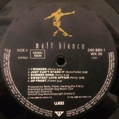 Vinilo Matt Bianco Yeh Yeh - Just Can't Stand It Lp Aleman - BAYIYO RECORDS