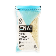 Arroz blanco Orgánico BYNA Zip Pack 600G