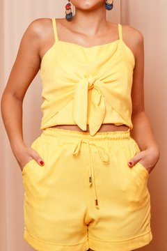 07173 - Cropped Thassia Amarelo