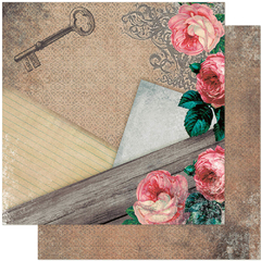 Papel Scrapbook Dupla Face SD 938