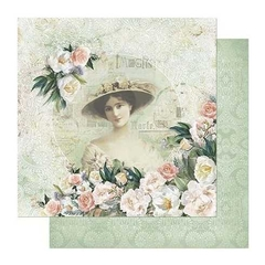 Papel Scrapbook Dupla Face SD 869