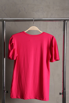 Camiseta com Hot Fix Trança - Pink na internet