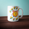 "Caneca Hey Tibers ""Coffe Time"""