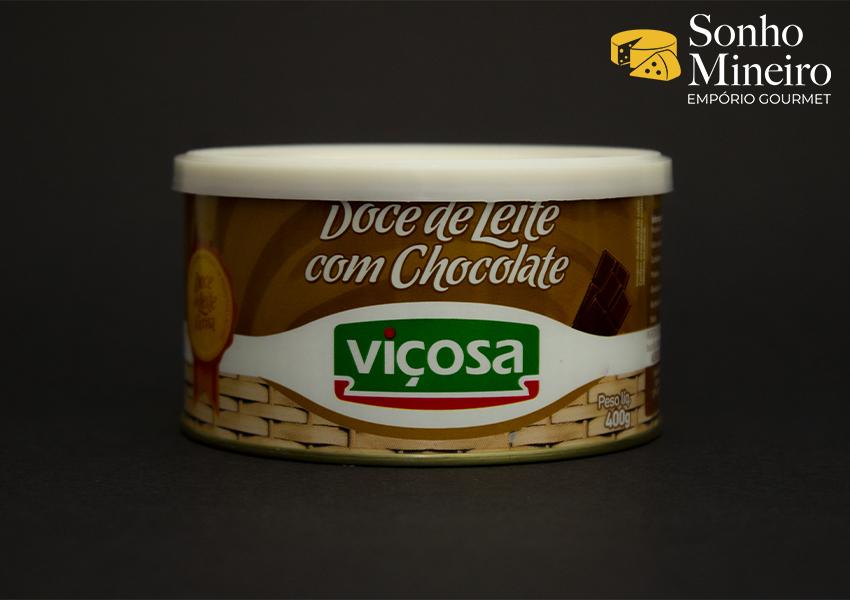 Doce De Leite Com Chocolate - Viçosa - 400G