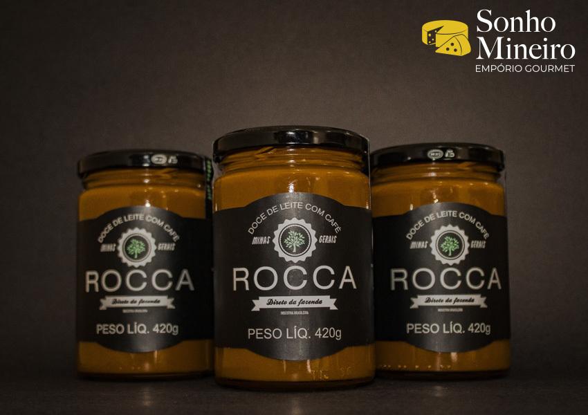 Kit 3 Doces De Leite Com Café - Rocca - 420G
