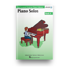 PIANO SOLOS - BOOK 4 CD - HL-0296571