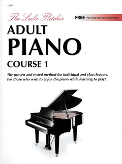 The Leila Fletcher Adult Piano Course 1 (Inglês) - LF-007 - comprar online