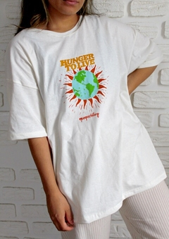 T SHIRT HUNGER TO LIVE