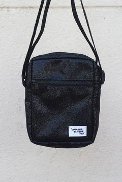 Shoulder bag glitter preta na internet