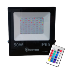 Reflector Led Rgb Colores Exterior 50w