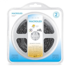 TIRA 2835 MACROLED IP20 300 LED X 5MTS