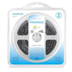 TIRA 2835 MACROLED IP20 300 LED X 5MTS - comprar online