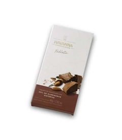 Tableta de chocolate con almendras X 80gr