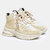 SNEAKER BOOTS S8 - Sand & White - comprar online