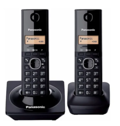 Telefono Inalambrico Panasonic Kx-tg1712 Doble Handy Duo
