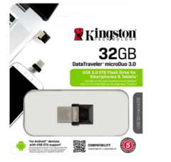 Kingston DataTraveler MicroDuo 32GB USB 3.0 Negro