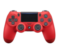 Joystick inalámbrico Sony Dualshock 4 jet black / red