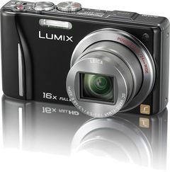 CAMARA DIGITAL PANASONIC LUMIX ZS10 16x ZOOM OPTICO 14.1 MP GPS WIDE 24MM