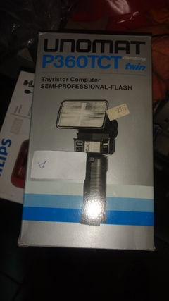 Flash Camaras Reflex Unomat P360TCT Twin