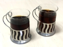 Cafetera Francesa Embolo 600 Ml + 2 Mugs Vidrio Acero 200 Ml - Vintash Bazar