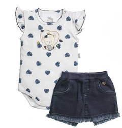CONJUNTO BODY E SHORT-SAIA