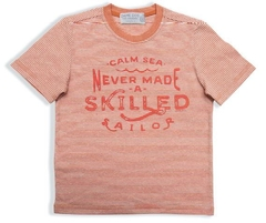 CAMISETA DAME DOS LIST DAILY CALM SEA TELHA