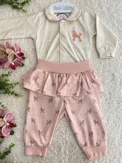 CONJUNTO MALHA DAILY LITTLE PRINCESS 2PCS