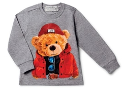 CAMISETA DAME DOS TEDDY BIG CINZA