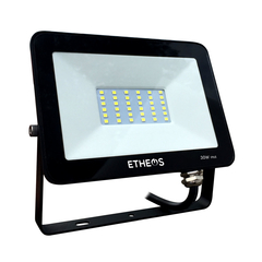 Reflector LED 30W Fria 6500k 52 leds IP65 Etheos PRO30FE