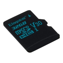 Micro sd 32gb Kingston Canvas Go! SDCG2/32GB V30 / UHS-I U3 90mb/s / 45mb/s