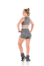 Short Power Fit Mescla - Dona Ninfa Fitness