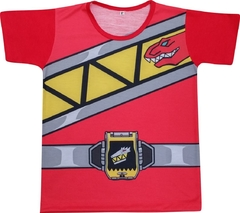 Camiseta Infantil Power Ranger Dino Charge